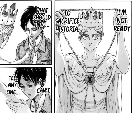 both wanted to protect Historia more than anything and Hisu declares to be their ally above everything else