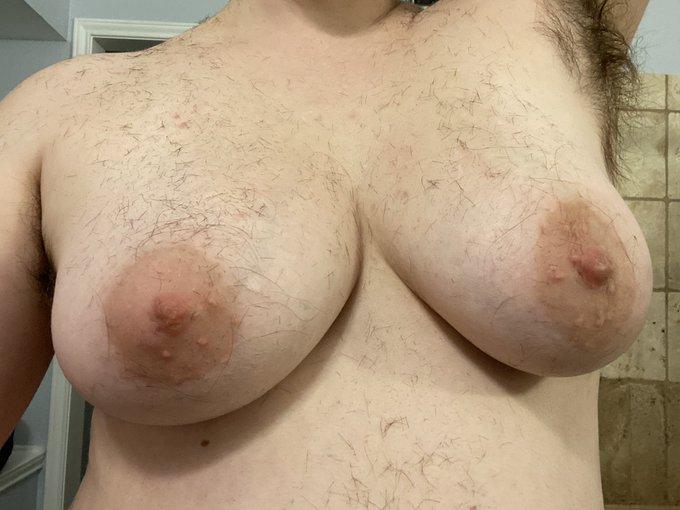 I heard you guys like hairy tits ;) https://t.co/DnajYb82VQ