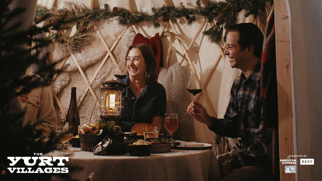 We're bringing you new at-home and outdoor dining experiences this winter like The Yurt Villages at 13 restaurants across the country w/ @resy. Learn more about this & the other unique dining experiences we're offering exclusively to Card Members: