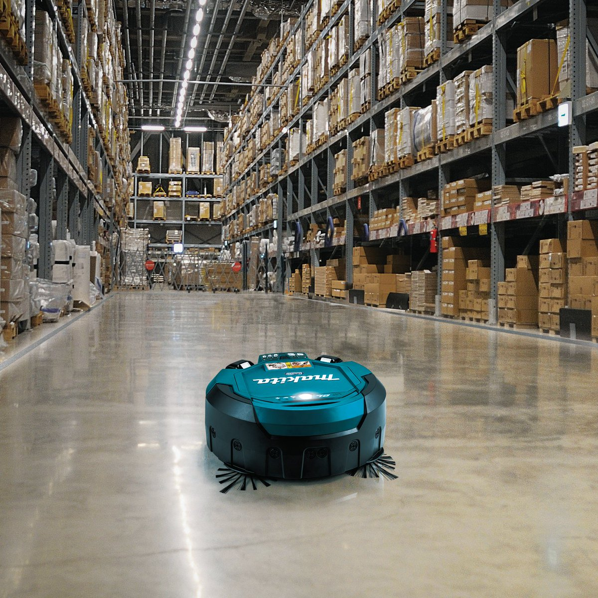 The 18V X2 LXT Brushless Robotic Vacuum is a cordless solution that automatically cleans large flooring spaces in such as warehouses, lobbies, banquet halls, office buildings, manufacturing facilities, gyms, and much more!  #makitausa #makitatools #drc200pt