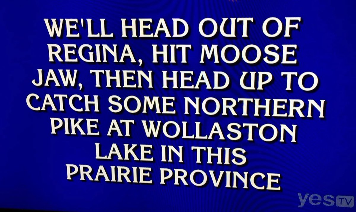 Replying to @eric_bellMB: Solid @Jeopardy clue tonight for $1600