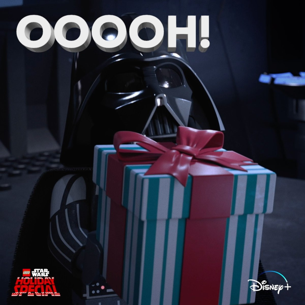 Unwrap something special! The LEGO Star Wars Holiday Special is now streaming on #DisneyPlus.