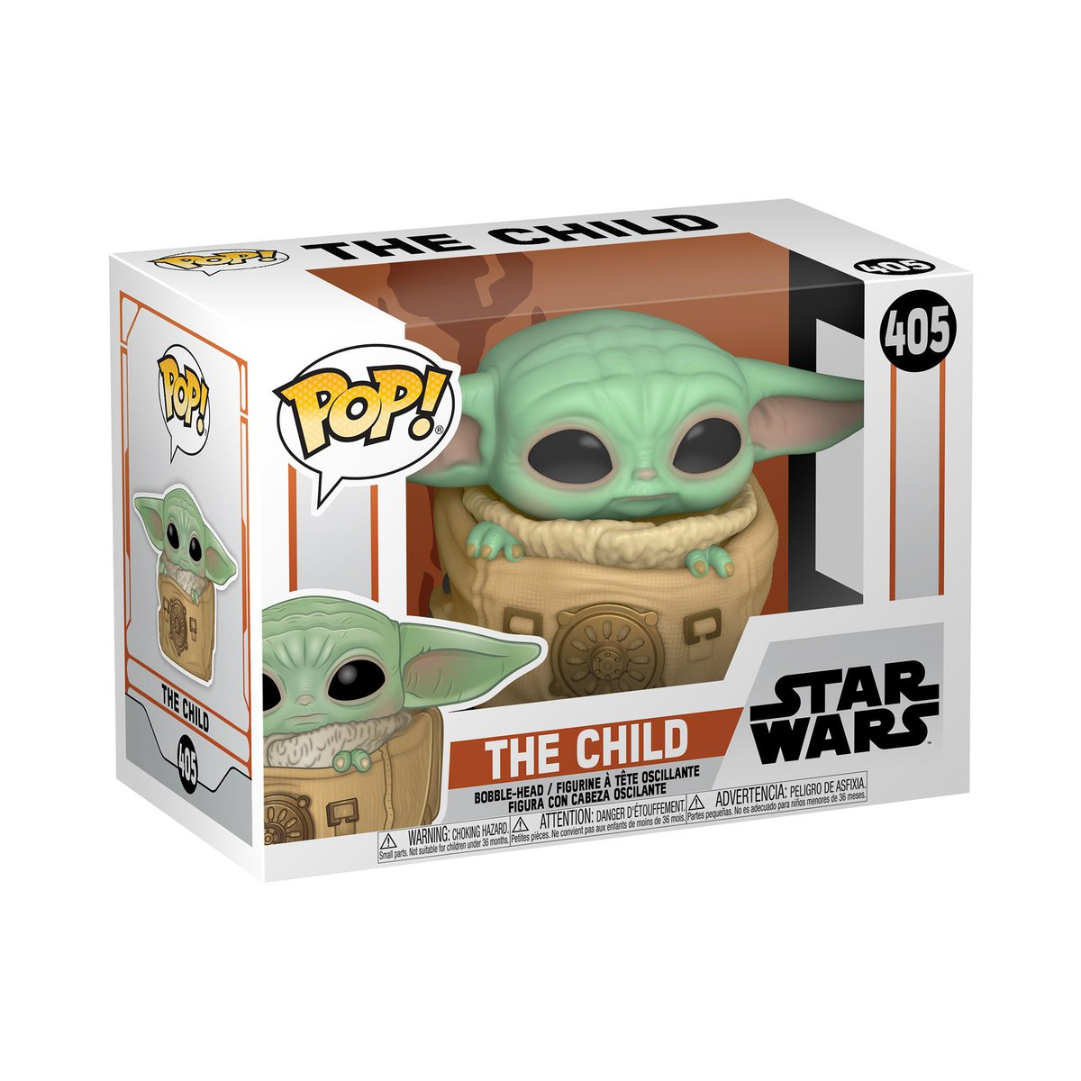 RT & follow @OriginalFunko for the chance to WIN The Child with bag Pop!  #Giveaway #FunkoGiveaway #TheMandalorian #DisneyPlus