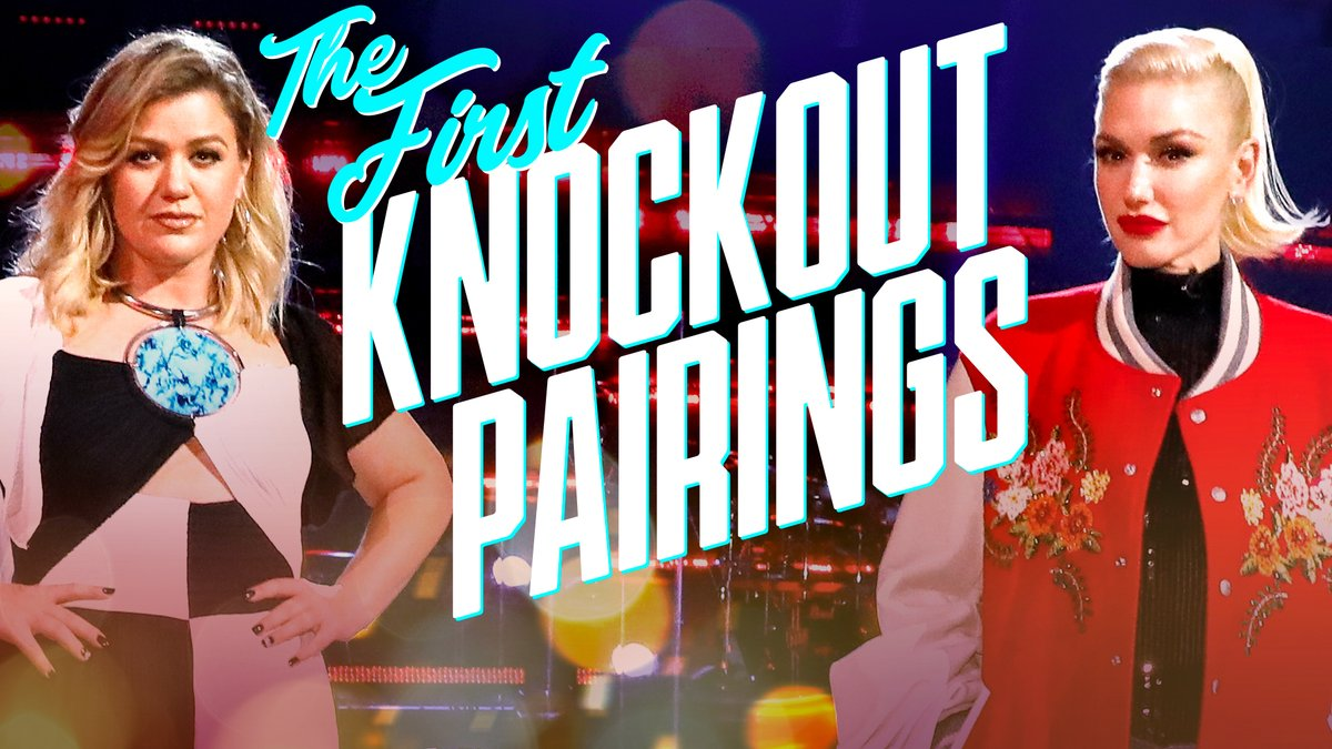It's time to reveal the FIRST #VoiceKnockouts pairings for tonight! 🔥