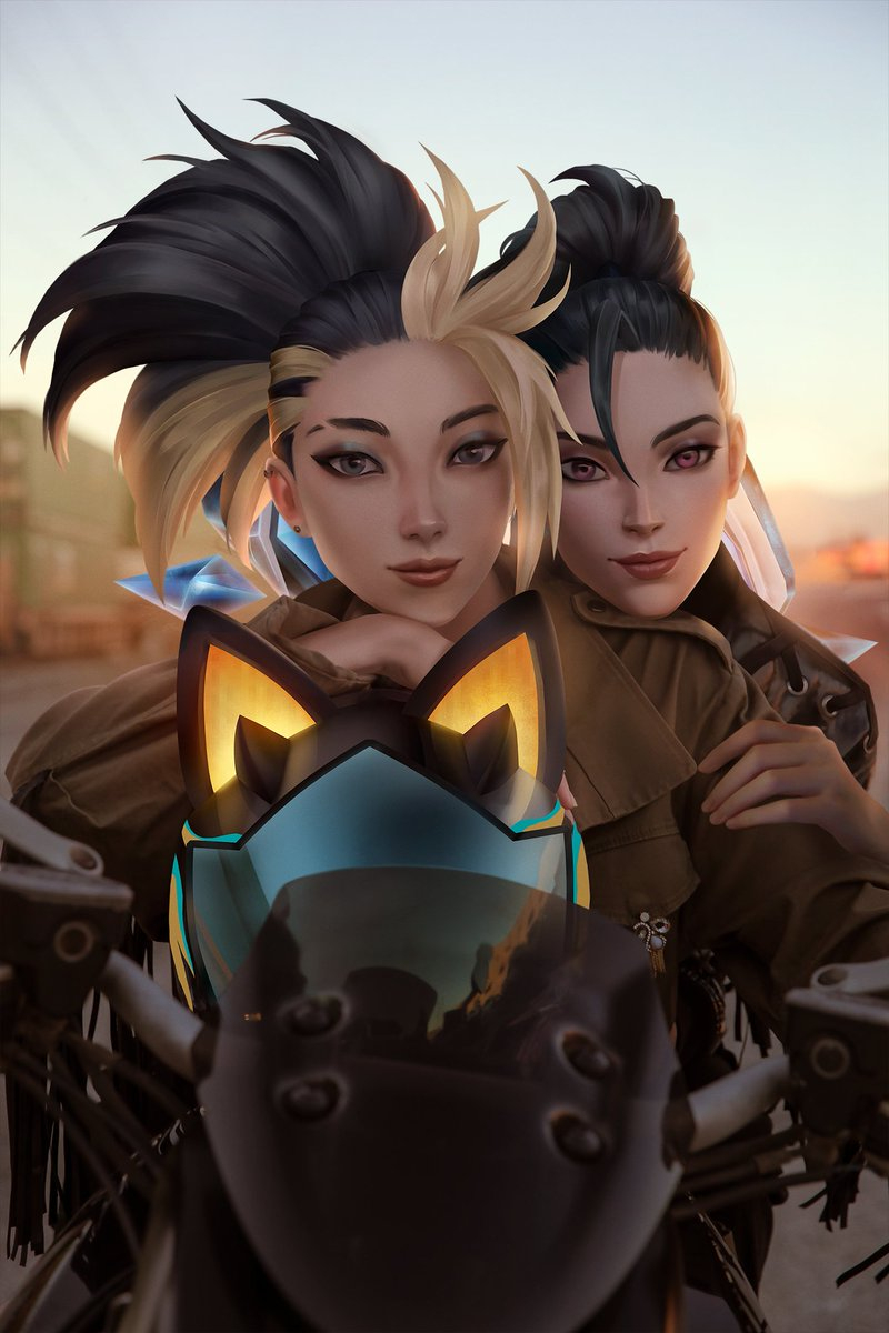 When Akali first joined K/DA, she had never danced before. We started doing late night lessons, just her and I. During those lessons, I learned I wasnt the only one who was teaching. Thank you for sharing your freedom with me, Akali, it helped me embrace mine. #KDA #DRUMGODUM