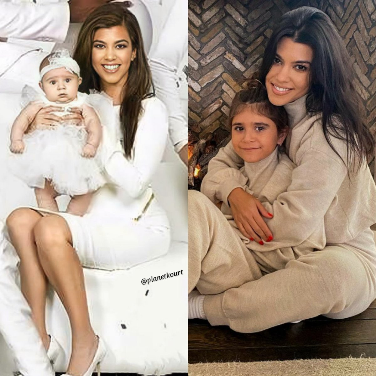 @kourtneykardash TWINS 💖