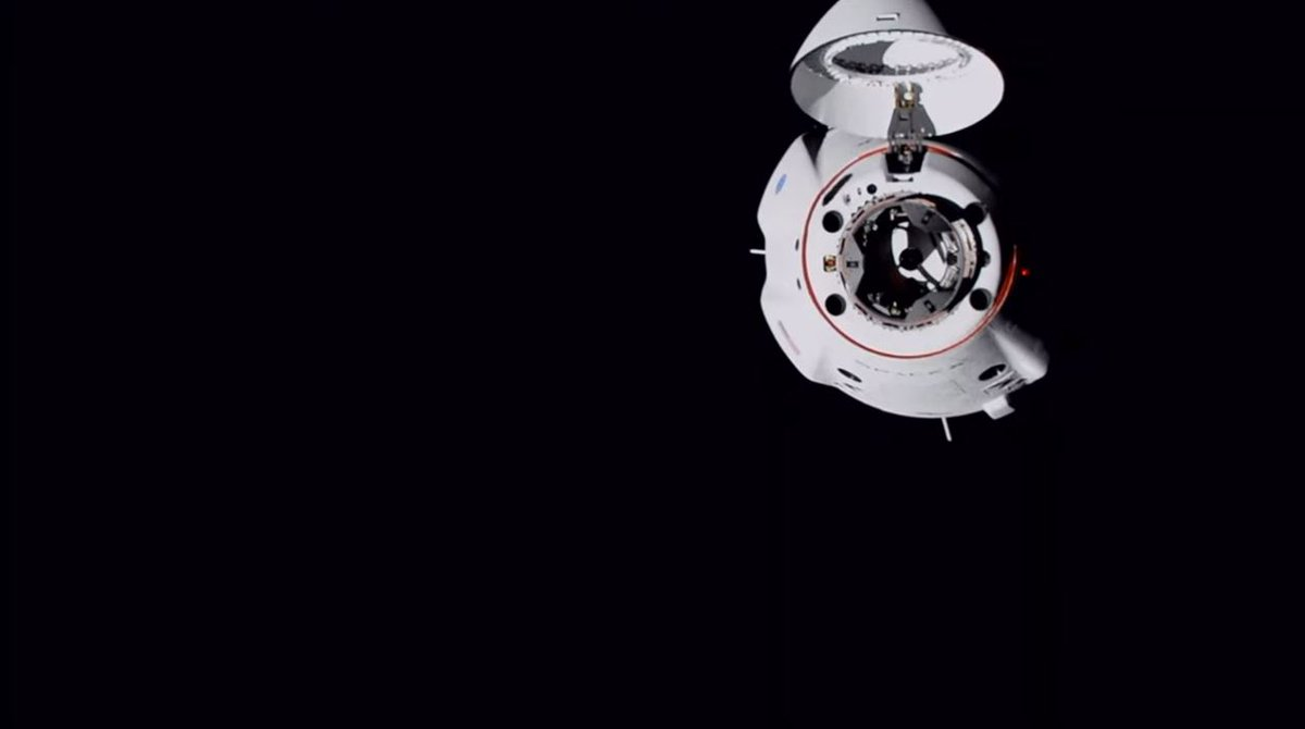 Dragon is go for docking