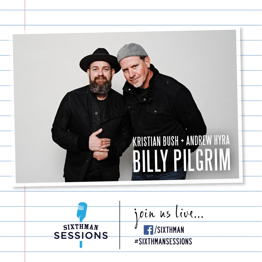 Weve got a bunch of great music for you today on #SixthmanSessions! Tune in for @_billypilgrim at 4PM ET, @MaggieMiles at 5PM ET, and @RandallBramblet at 6PM ET. See you there friends! #SXMsessions Tune In: facebook.com/sixthman/live RSVP: sixthmansessions.com/calendar