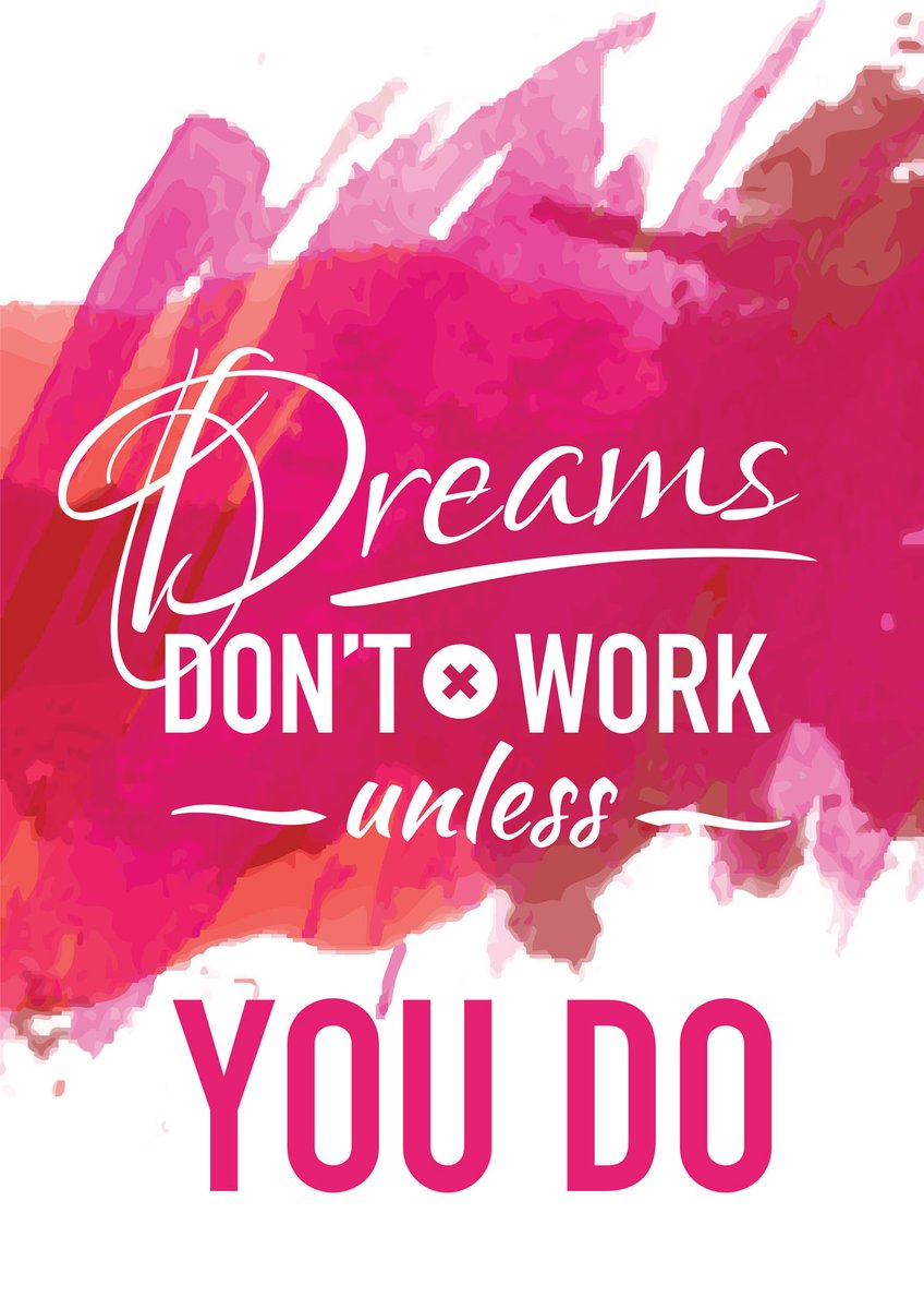 Visualize your dreams and work toward them. You can reach them if you give them a chance! #MondayMotivation