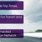 Image for the Tweet beginning: More reliable trip times. Free