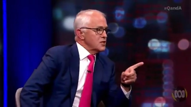 Watch former Australian PRime Minister Malcolm Turnbull stuff Paul Kelly into a locker over News Corp's position on climate change.   (Kelly is editor-at-large for one of Rupert Murdoch's key properties— The Australian.)  This is fantastic...