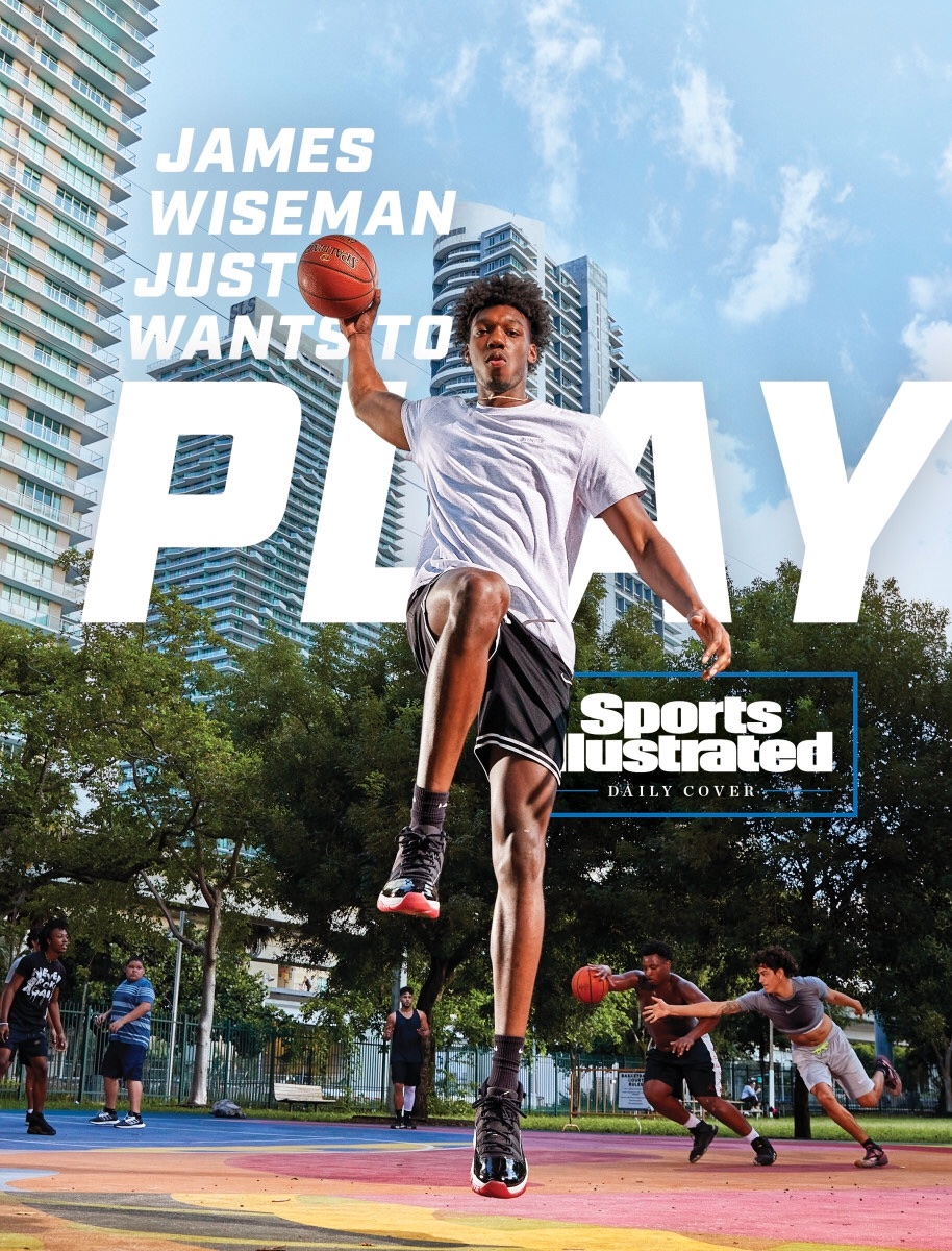 Say cheese, James (@BigTicket_JW)!   Today's @SInow Daily Cover!   https://t.co/tPGqXSTwAT   #EXCELing   (📸: Sports Illustrated) https://t.co/vJB9noJSbr