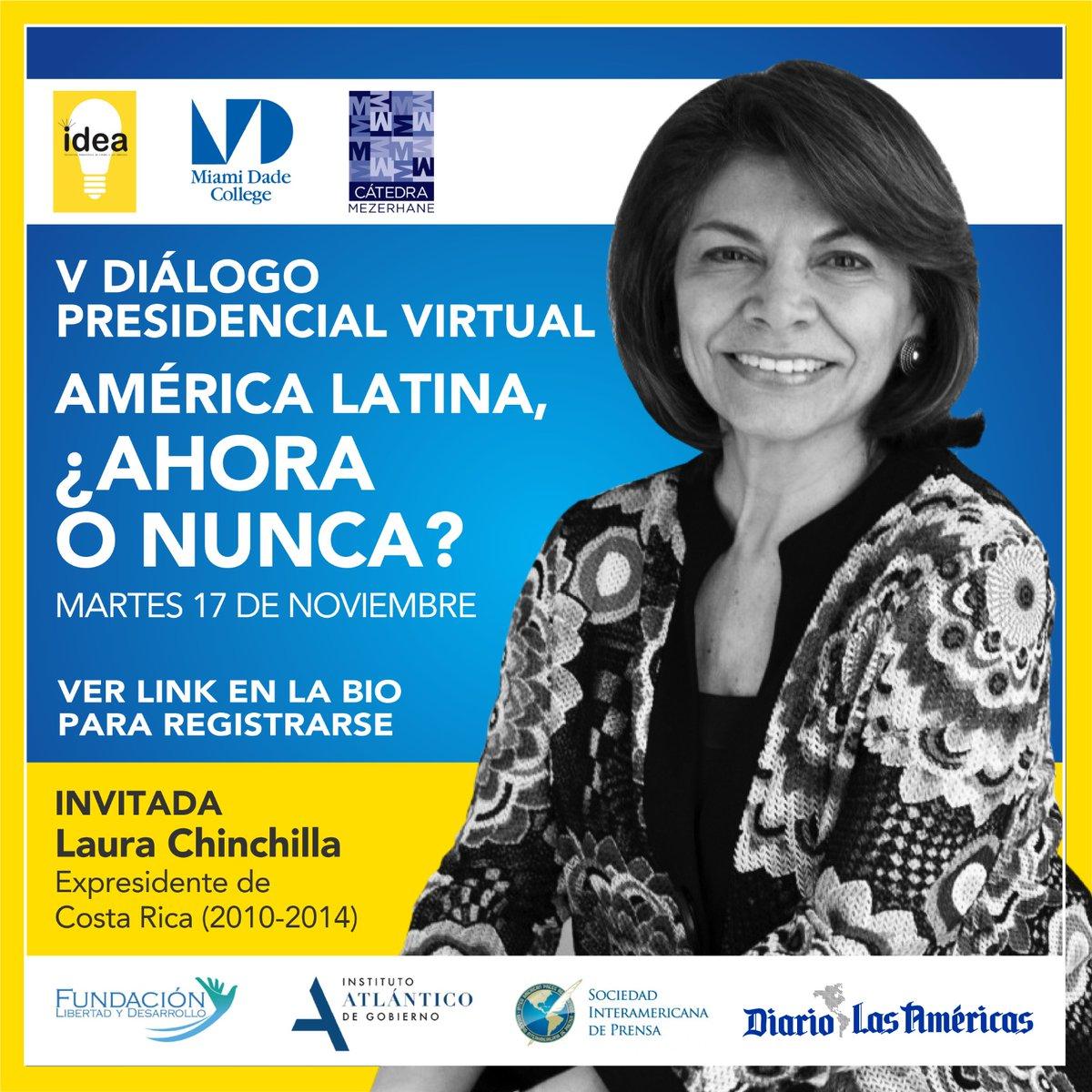 Laura Chinchilla (@Laura_Ch) Expresidente de Costa Rica. diariolasamericas.com/videos/liberta…