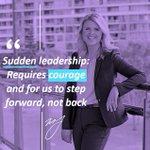 Image for the Tweet beginning: Often leadership opportunities show up