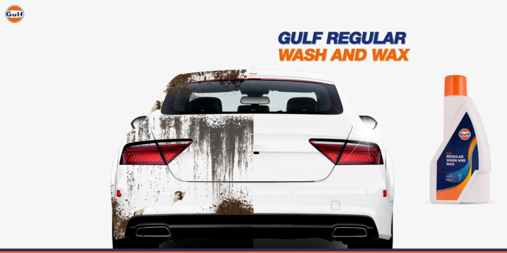 Wash your hands regularly, wash your vehicle with Gulf Regular Wash and Wax.  Can you say this 5 times without making a mistake? 🤔 #InternationalTongueTwisterDay  #GulfOilInternational #GulfOil #GulfCarCare