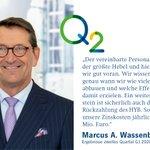 Image for the Tweet beginning: CFO Marcus A. Wassenberg zu