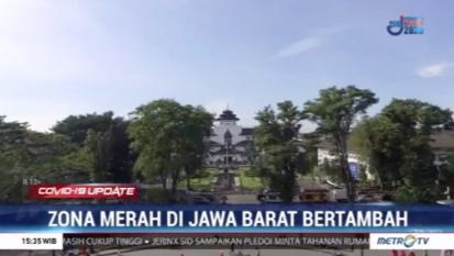 #Covid19UpdateMetroTV Zona merah penyebaran COVID-19 di Jawa Barat kembali bertambah. Jika sebelumnya hanya ada satu daerah yang masuk ke dalam zona merah. Kini tiga wilayah di Jawa Barat yang masuk ke dalam zona merah yakni di Kota & Kabupaten Bekasi dan Kabupaten Karawang.
