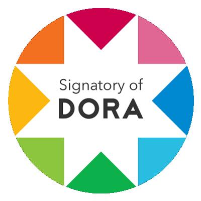 Signatory of DORA logo