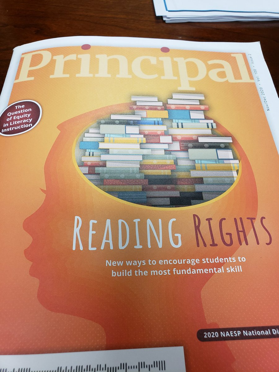 @BlossJulie quoted in latest @NAESP Principal magazine. Great words of advice for readers