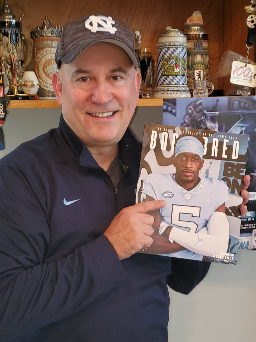 @TriceTopszn Theres my Light The Tower guy, looking all GQ, on the cover of Born & Bred...love the story of your journey and how you overcome hurdles. You are a fantastic representative of our University. A wise man said, Attack the day!
