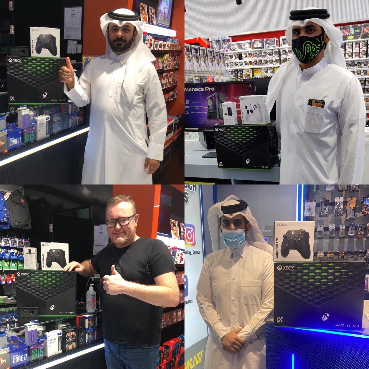 Qatari fans getting the new #XboxSeriesX @XboxGulf https://t.co/sqhHcIuLuj