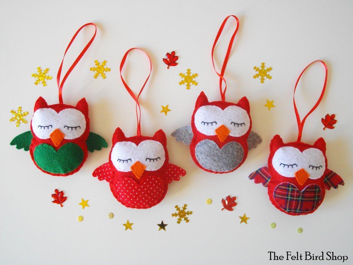 Addobbi Natalizi Handmade.The Felt Bird Shop Maria26580 Twitter