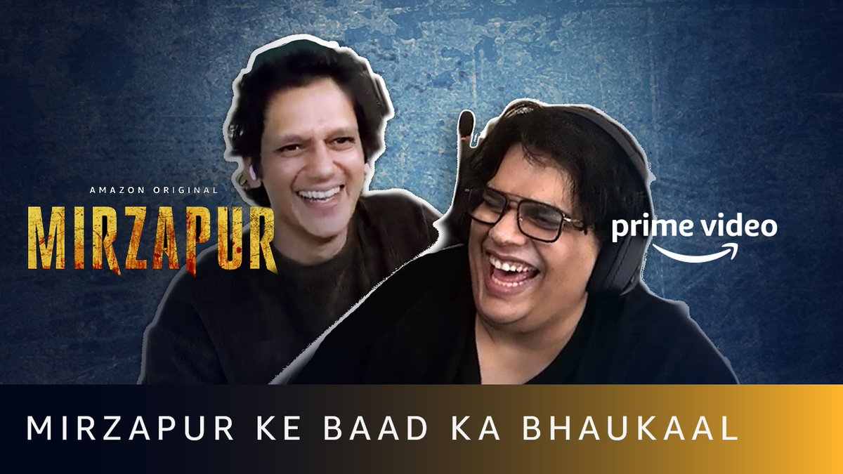 Bharat, Tanmay aur Shatrughan? Too much fun😅#MirzapurOnPrime   @PrimeVideoIN @excelmovies @MrVijayVarma @thetanmay   🎥: