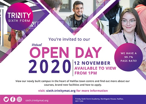 RT @tah6thform ⚠️ Calling all Year 11 students... 🗓️ Don't miss out on our virtual Open Day, this Thursday 12th November! ⏰ Available to view online from 1pm  📌 Learn more and register on our website now! https://t.co/pU5eA7p5Pu #SixthForm #ALevel #BTEC #Choices #Admissions #OpenDay
