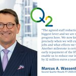 Image for the Tweet beginning: CFO Marcus A. Wassenberg on