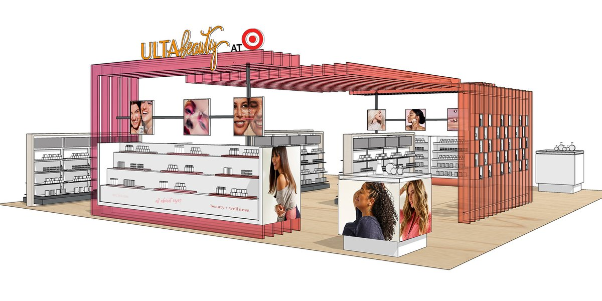 It's the beginning of a beauty-ful partnership. We're teaming up with @ultabeauty to launch a new, immersive beauty experience inside select Target stores and at . Get a VIP look at the plans:
