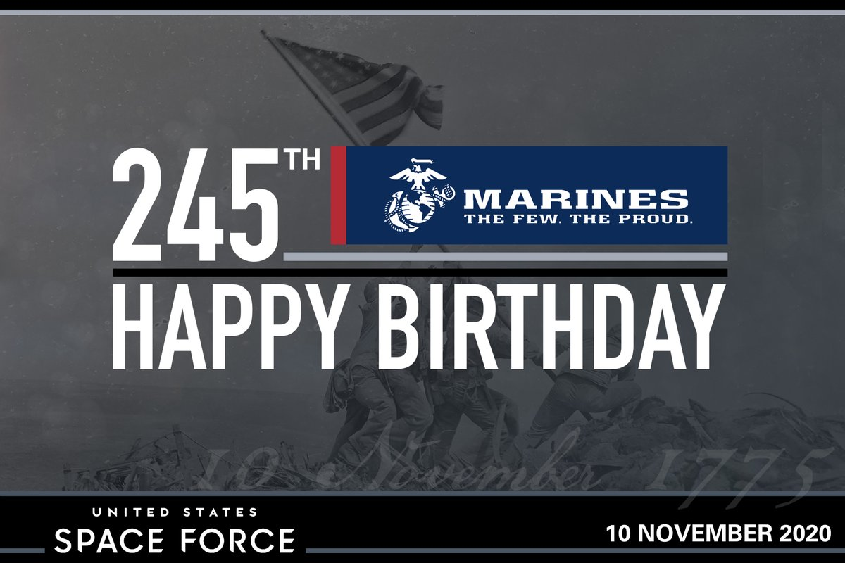 United States Space Force On Twitter Happy Birthday Usmc