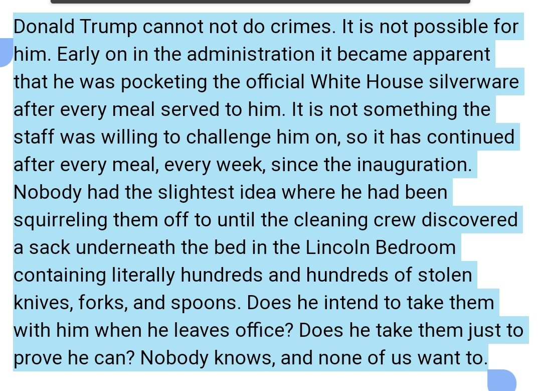 @IridescenceSd @PadmaLakshmi Leave the knives, they're most likely WH property!  ()