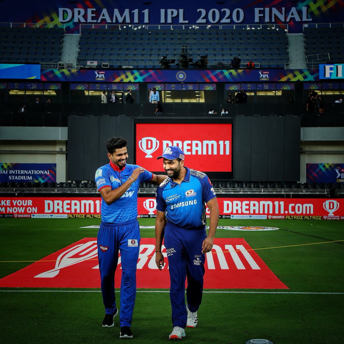 Congratulations @mipaltan on your 5th @IPL trophy 🏆  A well-deserved title 👏  #MIvDC #IPLFinal #Dream11IPL #YehHaiNayiDilli