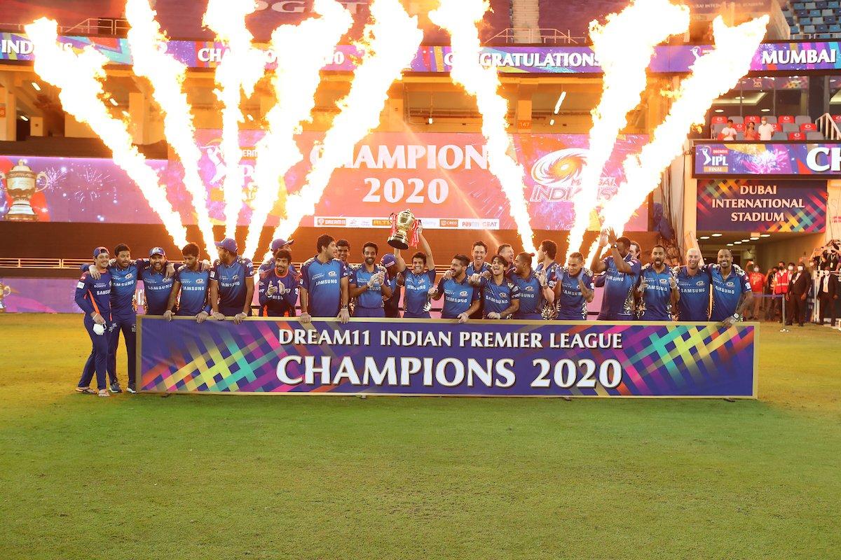 CHAMPIONS!!   #MumbaiIndians #Dream11IPL