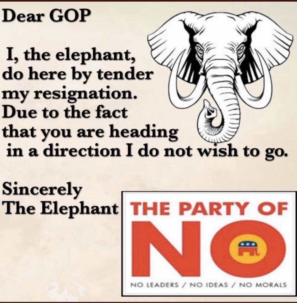 @RepsForBiden Time to rename and rebrand the Republican Party #GOP #GOPComplicitTraitors hear ye, hear ye on #BidenWonDay #BidenHarris #BuildBackBetter