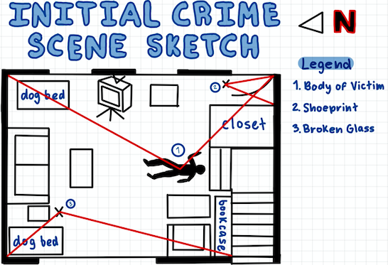 Forensic Tech students at ACC learn about the roles of first responders on a crime scene by practicing crime scene sketching. <a target='_blank' href='https://t.co/8rcHCgwECO'>https://t.co/8rcHCgwECO</a>