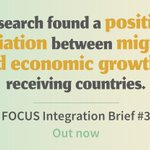 Image for the Tweet beginning: Migration and #integration impact the