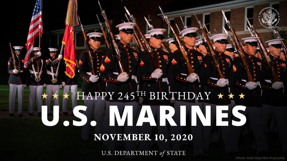 Happy Birthday Marines. #USMC