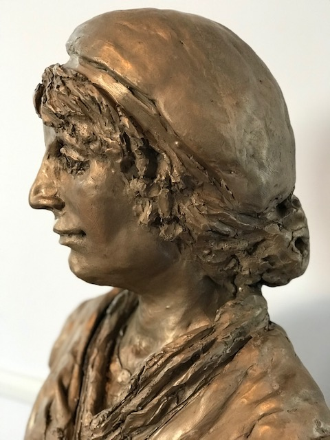 "jenny littlewood on Twitter: ""visit the quiet revolutionary Mary Wollstonecraft at The Meeting House, Newington Green, based on John Opie's portrait of her in the year of her death… https://t.co/V50vz7U8S9"""