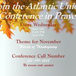 Image for the Tweet beginning: Join the Atlantic Union Conference