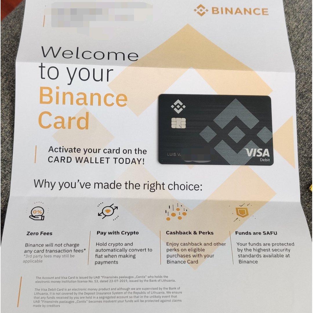 "Binance on Twitter: ""👀 #Binance Card… """