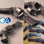 Image for the Tweet beginning: 出遅れたけど、ゾアハンターの銃。 形が良いのよ  #いい銃の日  #GA文庫  #ゾアハンター