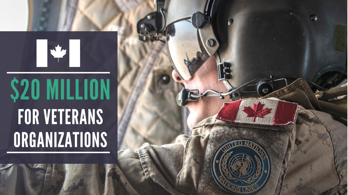 Many of the organizations that support our veterans have been struggling over the course of COVID-19 and so our government is stepping up to support them: over $17 million of this funding will go to the Royal Canadian Legion (RCL), ANAVETS, True Patriot Love, and VETS Canada.
