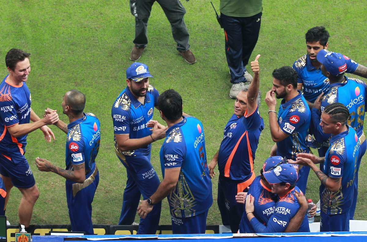 Ab to aadat si hai sabko aise dhone ki.  The best T 20 franchisee in the world and the best captain in the format. Deserving winners , Mumbai Indians, koi shak. Amazingly well organised tournament despite various challenges. #IPLfinal