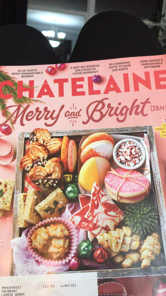 It always a good day when your @Chatelaine comes in the mail! It's always full of interesting and remarkable women, good recipes and is super diverse and open minded. If you haven't read it in a while check it out; it's good! https://t.co/ka6399GaB3