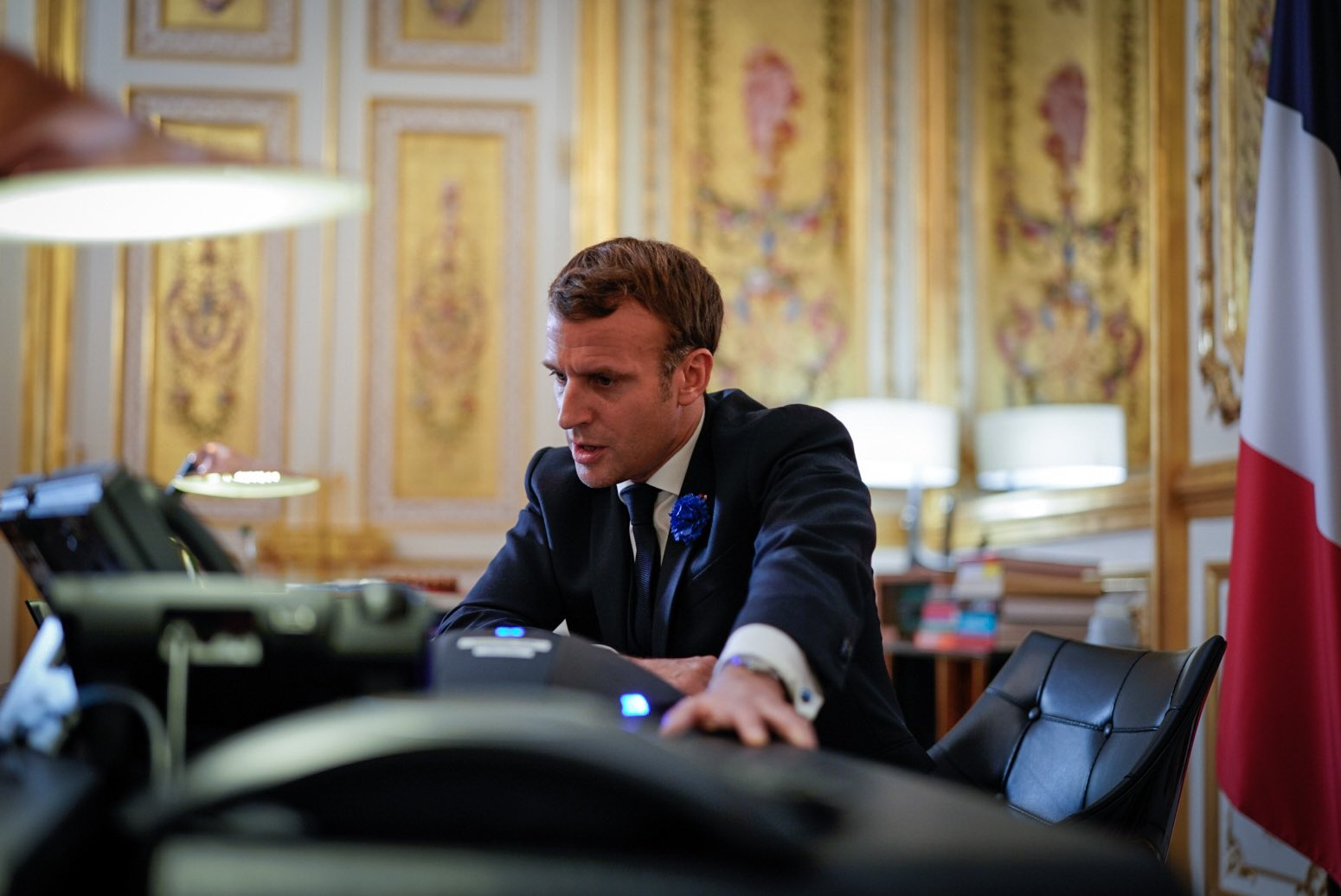 Emmanuel Macron On Twitter I Spoke To Joebiden To Congratulate Him On His Election We Ll Have A Lot To Do Together To Promote Shared Priorities Climate Global Health International Security
