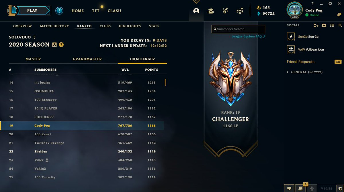 Cody Sun - Although I didn't end Rank 1, I'm happy to have climbed this far in one of the toughest Seasons for ADC players. Next year will be the year of the ADC!