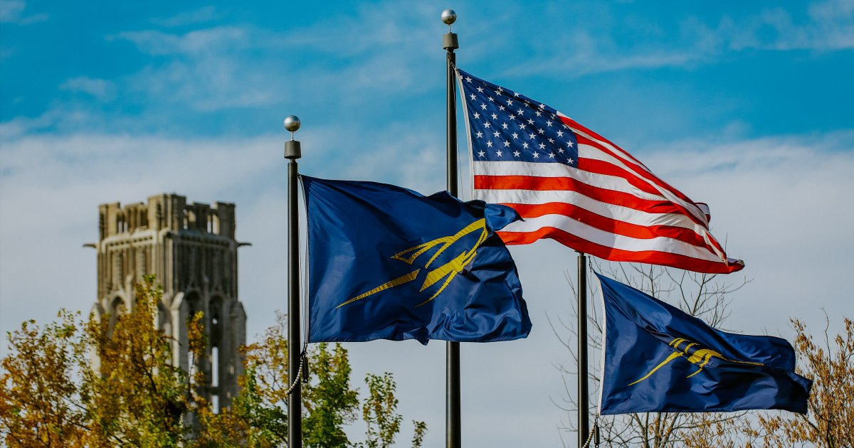 Today UToledo honors those who serve. Happy Veterans Day. https://t.co/4JJFLGmhQo