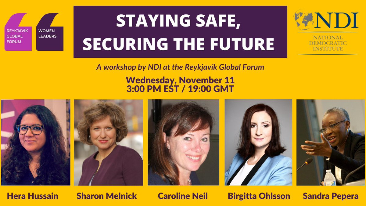 Join us at @NDI @NDIWomen tomorrow at @WomenLeadersGF