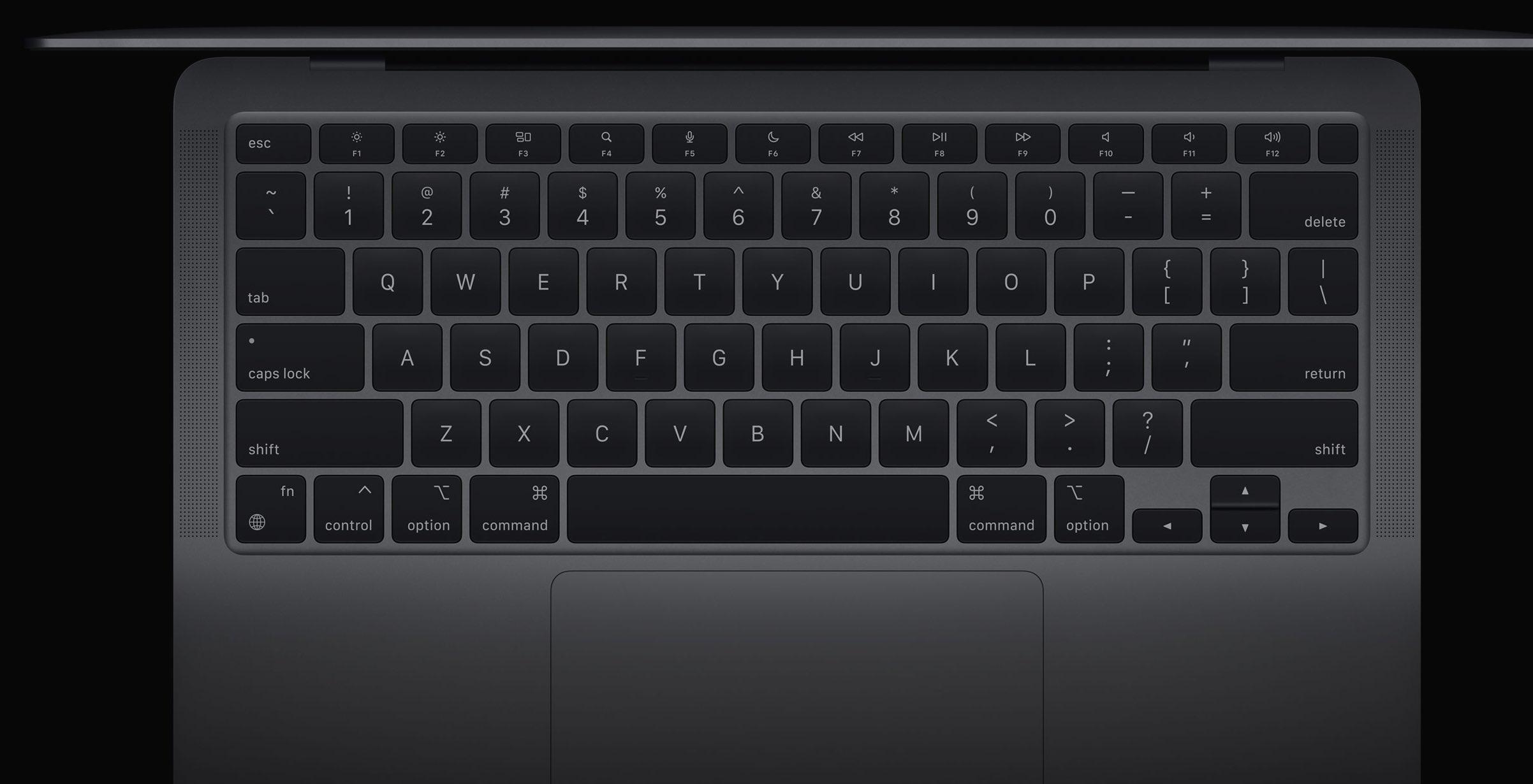 Teclado MacBook Air - Mark Gurman